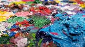 Цветовые пятна как товарный знак