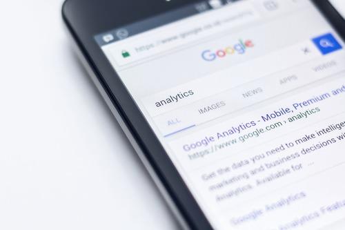 Изменённый поиск Google