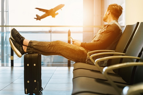 Аэропорт распознает лица