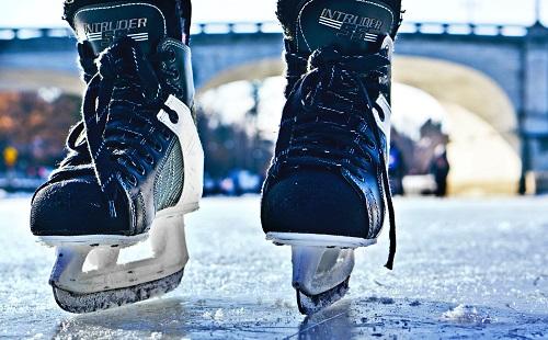 Хоккейная снежинка