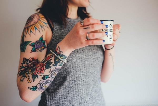 Татуировка как часть образа